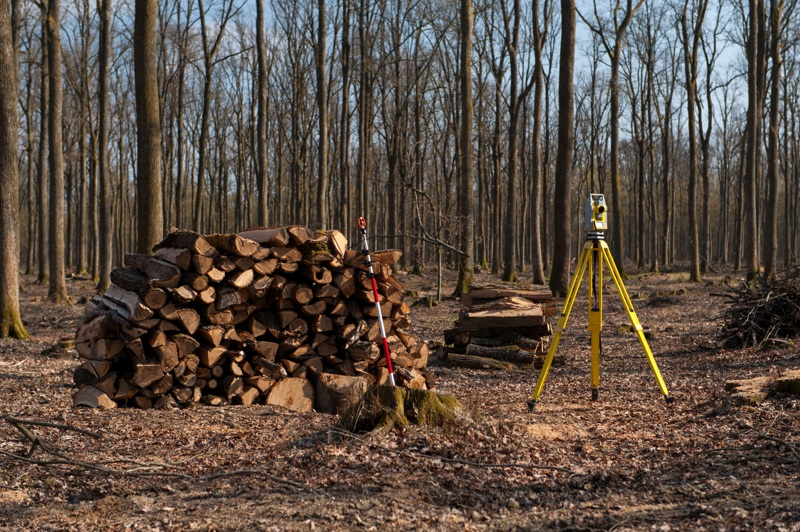 Tree survey equipment